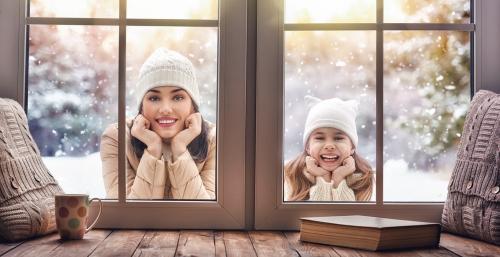 aménager maison hiver